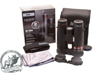 Бинокль Bushnell Legend M-Series 10x42 Black #199104